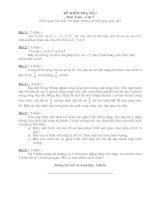 Đề thi dành cho HSG lớp 5 - Đề 2