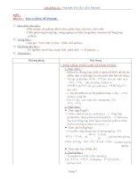 Nội dung bài giảng Hóa 12NC - Bài 16 (GV soạn thêm phần làm việc với HS)