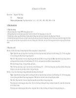 Kế hoạch chuyên môn Tiếng anh 10,11,12
