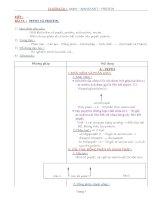 Nội dung bài giảng Hóa 12NC - Bài 13 (GV soạn thêm phần làm việc với HS)