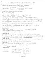 Bài giải chi tiết đề thi đại học 2008