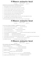 Test 15min -Term II (after U9) -6 tests