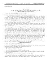 Tư liệu sử 9, bài 16: Hoạt động của Nguyên Ái Quốc ở nước ngoài 1919-1925