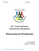 43 rd International Chemistry Olympiad