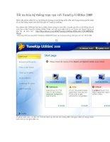 Tối ưu hóa hệ thống trọn vẹn với TuneUp Utilities 2009.doc