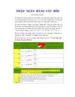 Đề kiểm tra trắc nghiệm HK I lớp 11