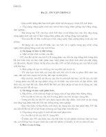 Giáo án công nghệ 10 tiết 17 - 26