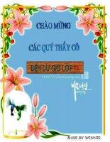 Bài 5 - Vẽ Trang trí - Tạo dáng và trang trí lọ hoa