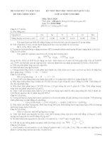Bài thi HSGQG năm 2008 (có đáp án)