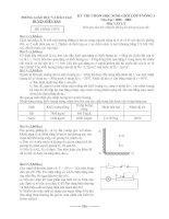 Đề thi HSG Huyện Vòng 1 (08-09)
