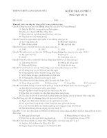 Kiểm tra 15 pút lần 2- 4 mã đề