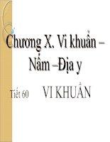 Bài 50: Vi Khuẩn