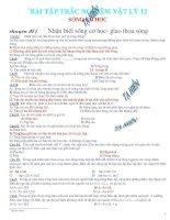 Bài tập vật lí 12-sóng