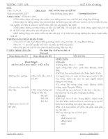 Giáo án Ngữ Văn 10 (Nâng cao) - Tiết: 73 ->79