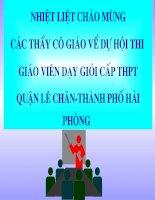 phép tịnh tiến - tham dự thi GVG thành phố