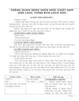 Tiết 5-6: Khái quát văn học dân gian Việt Nam - NC