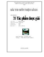 """Bài thuyết trình """"Hội thi thư viện Giỏi Huyện Hàm Thuận Bắc"""" Bài 3"""