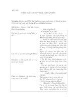 Giáo án ngữ văn 11