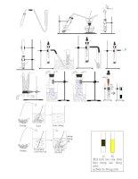 hình vẽ các thí nghiệm hóa học thcs