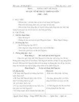 Giáo án Mỹ thuật 9 (Bài 1 đến bài 16)