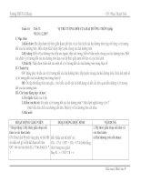 GIÁO ÁN HÌNH 9 TUÂN16(TIẾT 31-32)(3 cỘT)