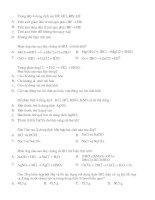 Bài tập trắc nghiệm 5