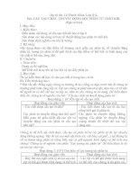 Bài 28: Cấu tạo chất. Thuyết động học phân tử chất khí
