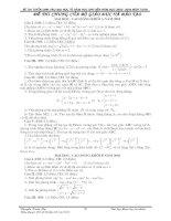 Tuyển tập các đề thi đại học (file Word)