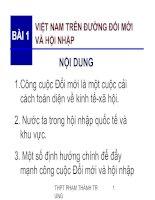 Việt Nam trên đường Đổi mới và hội nhập