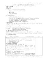 Giáo án Anh 12 Unit 3, test A (chuẩn)