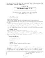 Giáo án Sinh học 12 bài 10