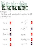 sự đồng biến và nghịch biến của hàm số  ( T12 cua Vân - THĐ - HP)