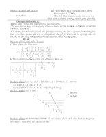 Đề thi giải toán trên máy tính casio