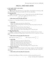 Đề cương toán 11 học kì 1