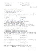 Đề thi học kỳ I 12A ềd 4
