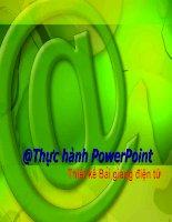 Hướng dẫn sử dụng Powerpoint - Thiết kế bài giảng điện tử 7