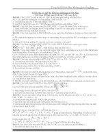 Tuyển chọn 50 bài toán hình học không gian( Phần tiếp theo của 100 bài H.H.K.G.T.H- Luyện thi lớp 11,12)
