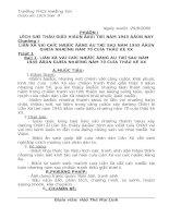 Giáo án lịch sử lớp 9 (Từ tiết 1-28)