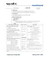 Giáo án Đại số 8 Chương 1 (3 cột)