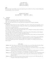 Bài viết số 3 ban KHTN HK I
