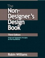 Peachpit non designers design book 3rd edition feb 2008