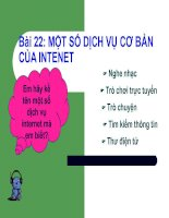 Tin hoc 10: Bai 22