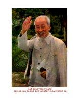 Học tập và làm theo tấm gương đạo đưoc Hồ Chí Minh