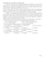 20 bài reading (quetions) phần 2