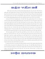 Sủ dụng trò chơi ngôn ngũ trong d¹y học Tiếng anh- Công phu