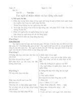 Giáo án ngữ văn 7 tập 2