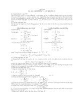 các dạng bài tập trắc nghiệm vật lý 12