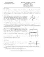 Đề thi HSG Vật lý 12