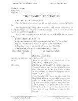 Giáo án tuần 6n- Phần Truyện Kiều
