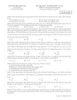 Đề kiểm tra chương 1-mã 904